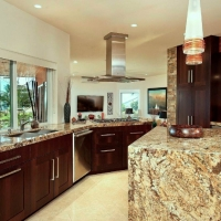 Hillside kitchen